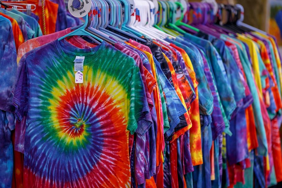 batikovaná trička