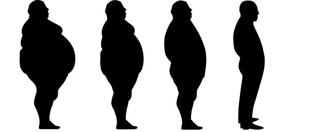 silueta, obezita, hubnutí
