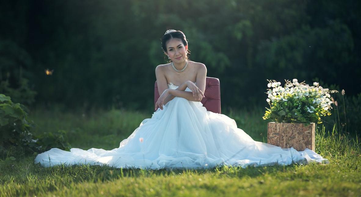 nevěsta v bílé
